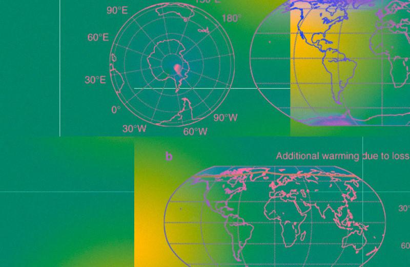 Таяние льдов за 10 тысяч лет повысит среднюю температуру на планете на 0,43 градуса Цельсия