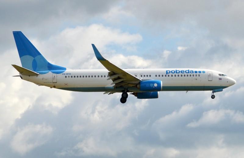 Пассажира «Победы» оштрафовали на 480 тысяч рублей за курение на борту