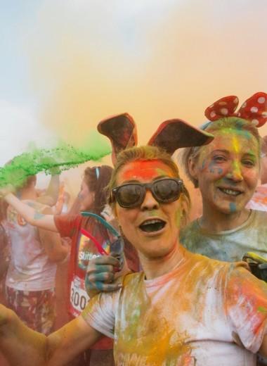 Вогнать в краску: 10 июня в Москве пройдет «Красочный забег»