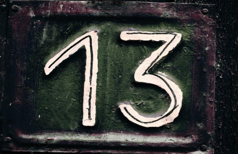 Чёртова дюжина: почему число 13 так страшно привлекательно