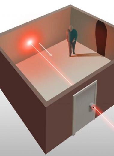 Взгляд сквозь дверь: лазер помог ученым заглянуть в запертую комнату