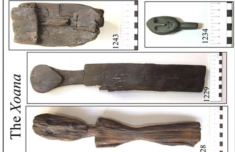 Археологи разобрались в технологии изготовления ксоанов из святилища богини Мефитис