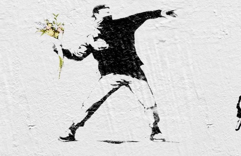 Граффити Бэнкси привезут в Москву
