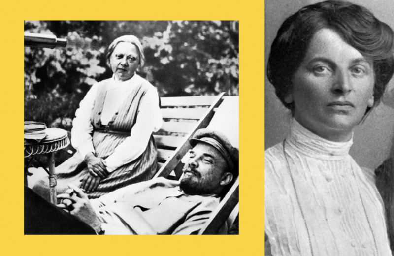 Брак втроем: что связывало Ленина, Крупскую и Арманд