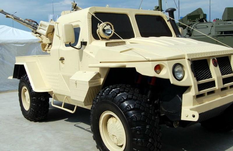 Тачанка XXI века: бронеавтомобиль «Самум»