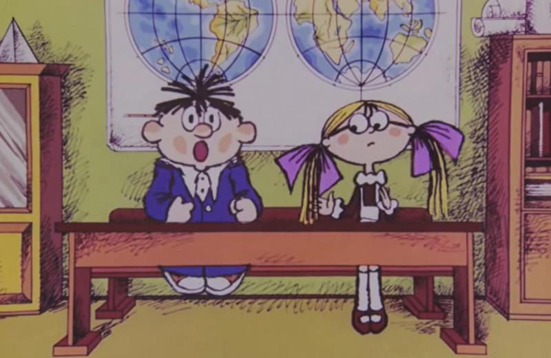 10 всеми любимых советских мультфильмов про школу