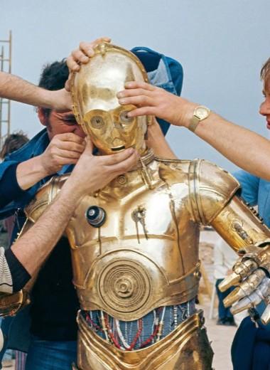 Вселенная «Звездных войн»: публикуем редкие кадры со съемок оригинальной трилогии и эскизы к ним