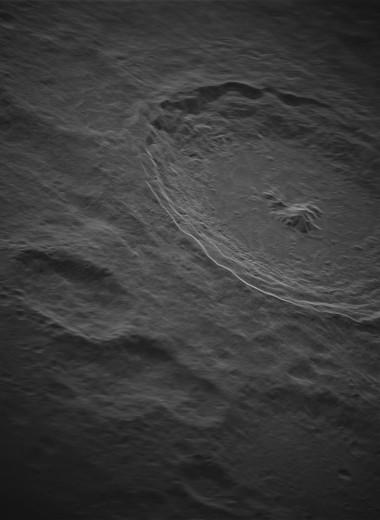 В Западной Вирджинии сделали снимок Луны с рекордным для наземных инструментов разрешением
