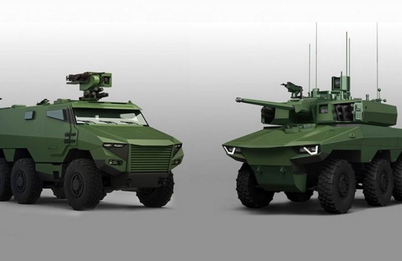 «Гриффон» и «Ягуар»: новейшие бронемашины французской армии