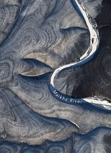 NASA обнаружило над российской Арктикой загадочные полосатые завитки