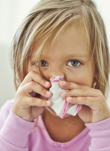 У ребенка аллергия: что делать?