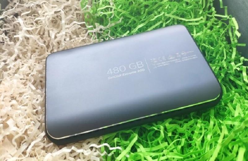 Обзор внешнего SSD-накопителя SanDisk Extreme 900 Portable: если важна скорость…