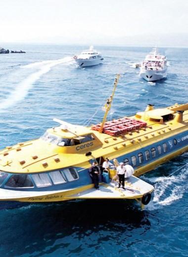 Суда на подводных крыльях: 150 лет истории