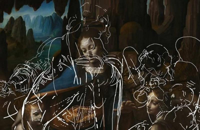 Искусственный интеллект помог проявить сокрытый под картиной да Винчи рисунок