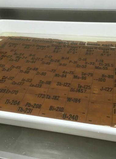 Найдена старейшая копия таблицы Менделеева