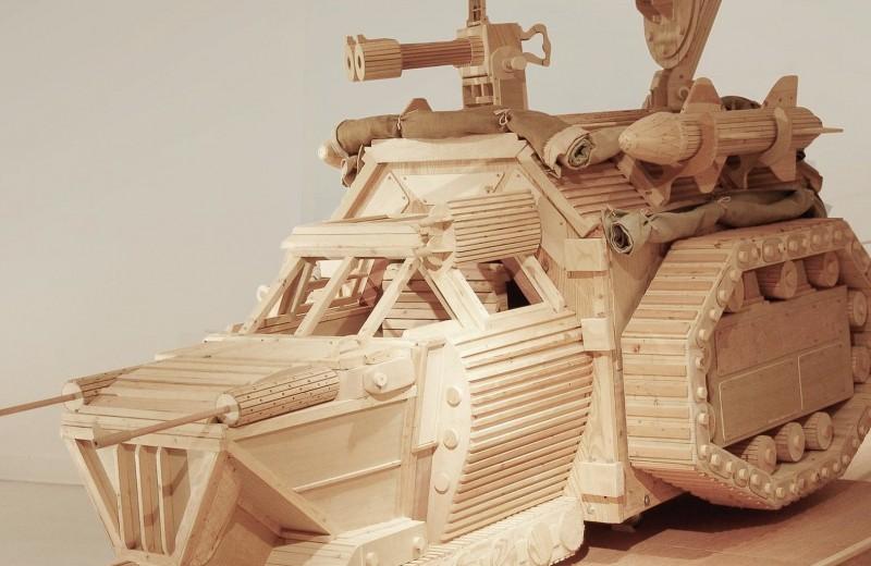 Деревянные боевые машины Майкла Ри