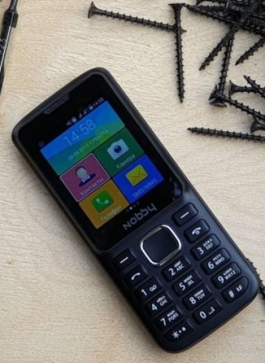 Непростой телефон за 2 тысячи рублей — Nobby 230