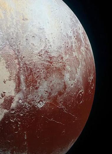 На Плутоне есть заснеженные горы, но они совсем не такие, как на Земле
