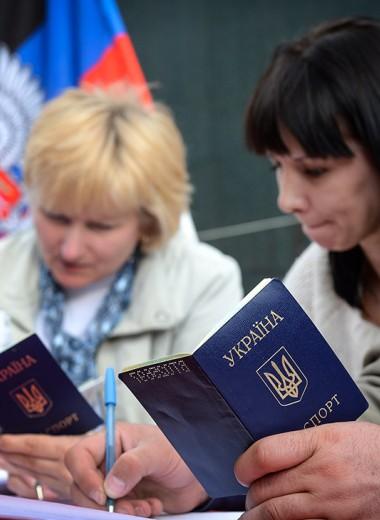 Санкции бьют по паспорту