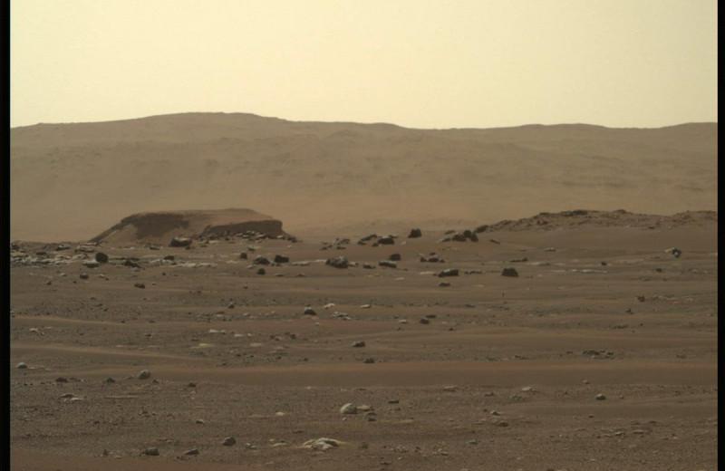 Perseverance прислал 360-градусную панораму Марса