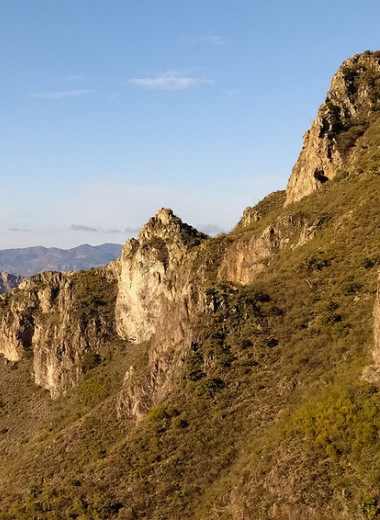 Одна вокруг света: крутой спуск и теплый прием в Медном каньоне