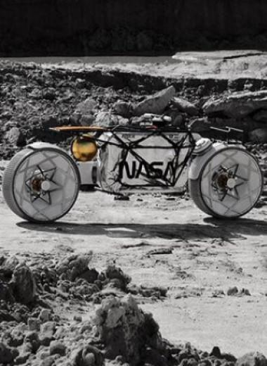 Астронавты могут оседлать «Тихоходок»: концепт лунного мотоцикла