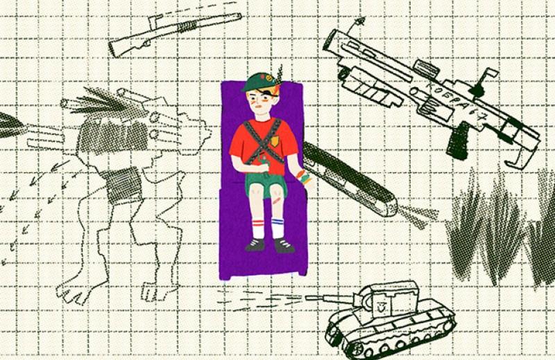 Военная тайна 13-летнего подростка