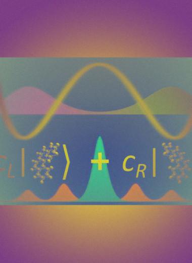 Молекулы предложили переводить в хиральную суперпозицию