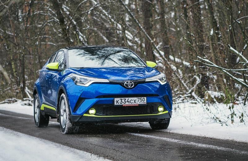 Дерзкий малый: тест Toyota C-HR