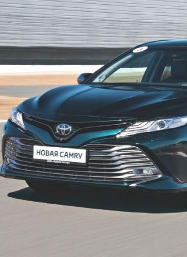 Тест-драйв новой Toyota Camry: рост выше среднего