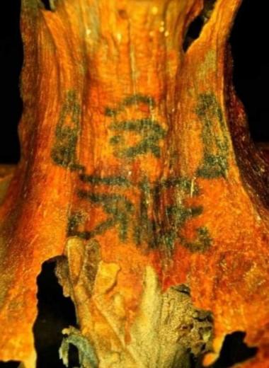 Откуда у древнеегипетской мумии необычные татуировки?