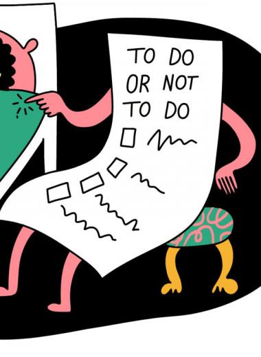 Дарит прокрастинацию, чувство вины и забирает радость от жизни: почему список дел хуже расписания в календаре