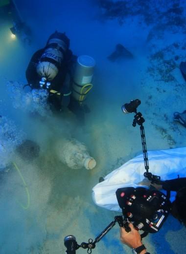 В Эгейском море исследуют десятки затонувших кораблей