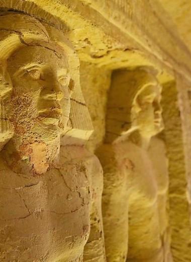 В Египте найдена неразграбленная гробница: фото