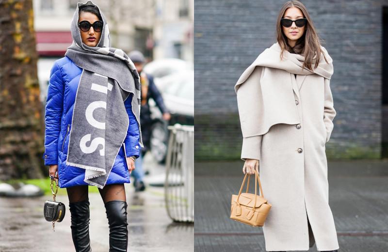 Время доставать шарф! Как носить разные модели этой осенью — актуальные способы