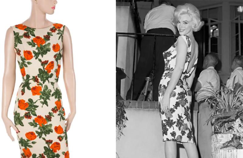 Проклятое платье Монро, которое не могли продать, и еще 5 ее скандальных нарядов