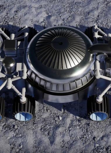 Новый ровер будет добывать воду на Луне, прожигая грунт ракетным двигателем
