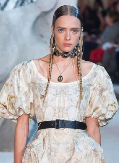 Как создавалось свадебное платье Alexander McQueen