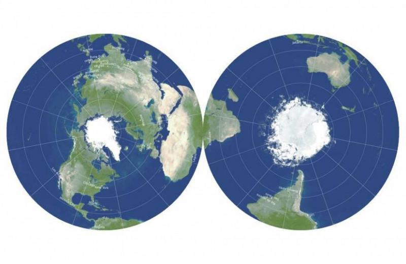 Создана самая точная карта Земли. Она похожа на грампластинку