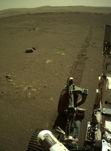 Perseverance записал звуки своего путешествия по Марсу