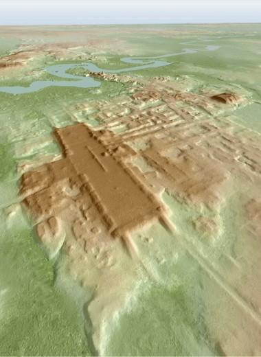 Обнаружено крупнейшее и древнейшее сооружение майя