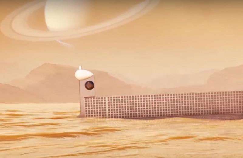 Ученые хотят отправить подлодку бороздить море Кракена на Титане