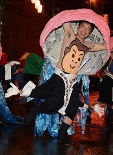 Фестиваль танцующих пупков