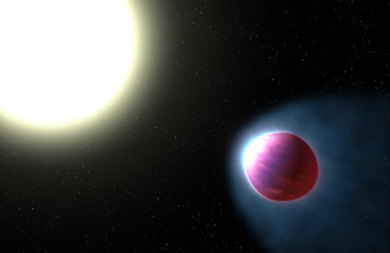 Атмосфера одной из самых горячих экзопланет в галактике оказалась заполненной металлами