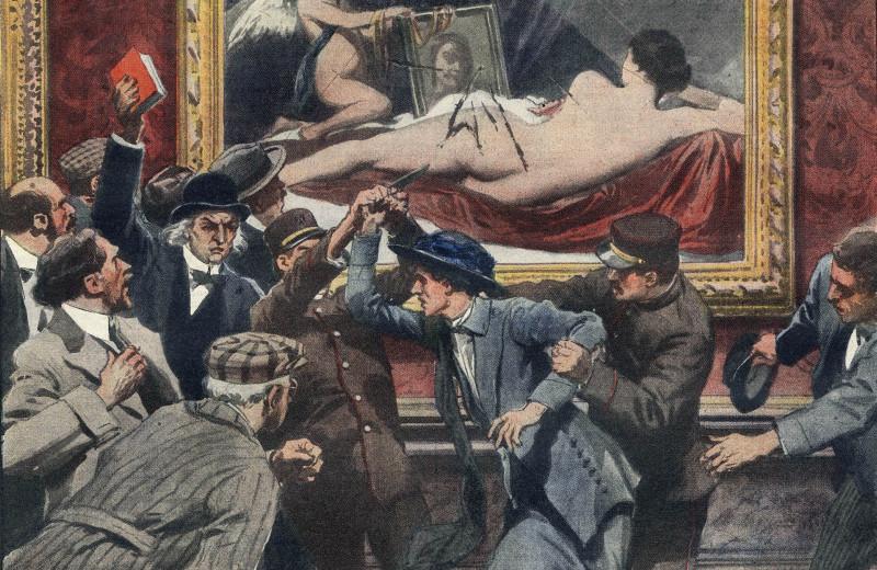 """""""Убийца Мэри"""": британская суфражистка боролась за права женщин, 9 раз голодала в тюрьме, изрубила картину Веласкеса и стала фашисткой"""