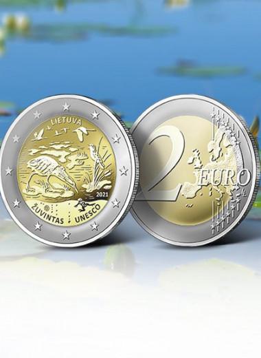Монетный двор Литвы разместил на монетах девиз чужой страны