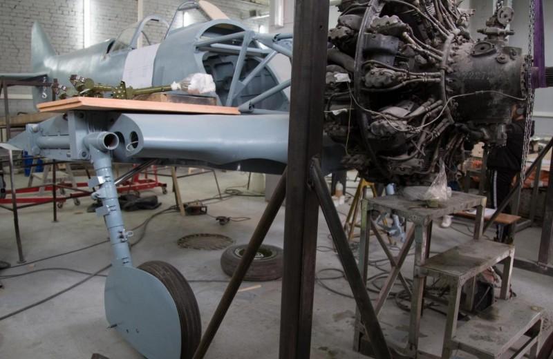 Российские инженеры создали первую точную реконструкцию самолета Ла-5