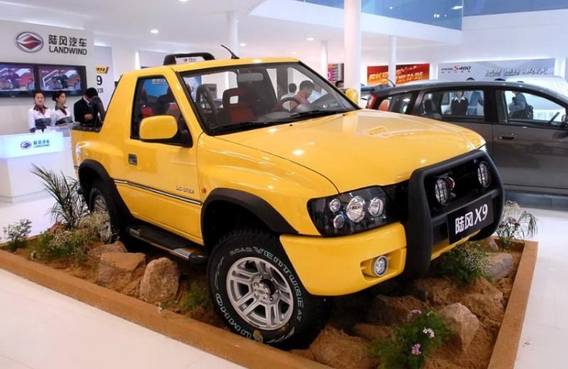 10 китайских автомобилей, о которых вы ничего не знали