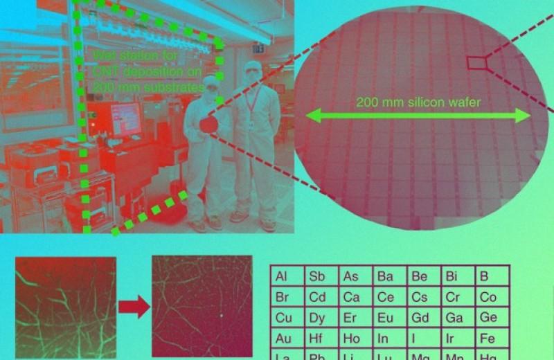 Синтез транзисторов на основе нанотрубок ускорили в тысячу раз