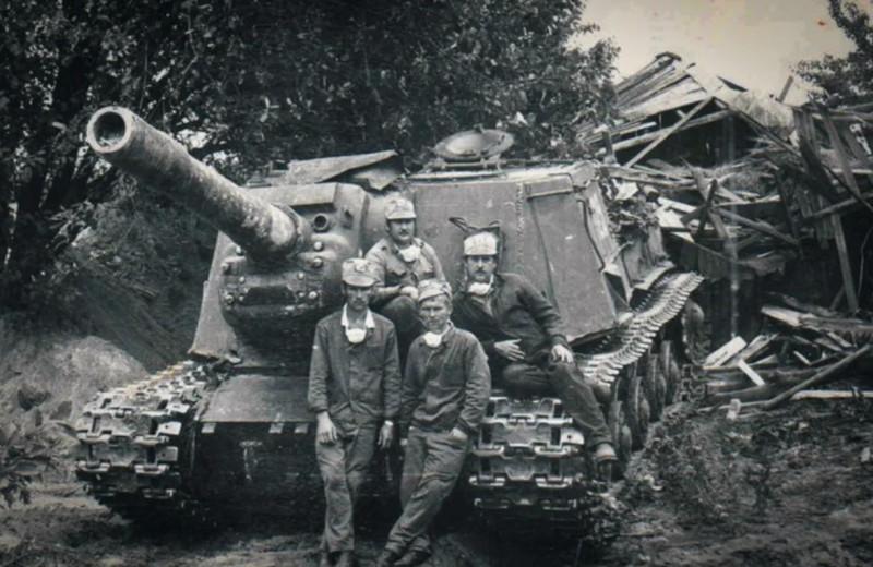 Консервный нож для немцев: 7 фактов о самой страшной советской самоходке